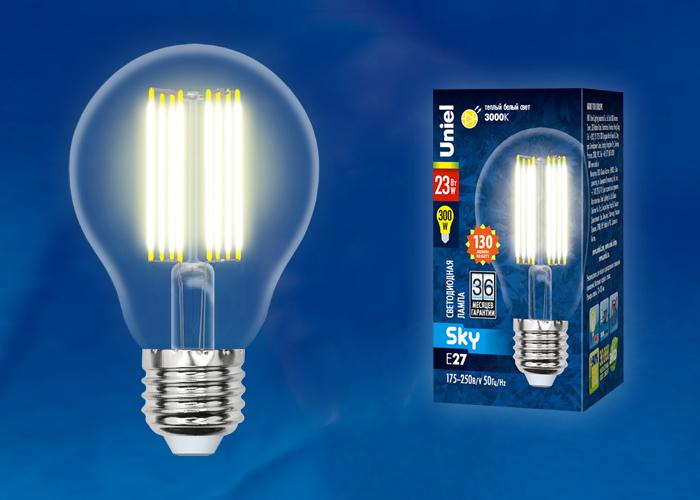 LED-A70-23W/3000K/E27/CL PLS02WH картон - фото 49349