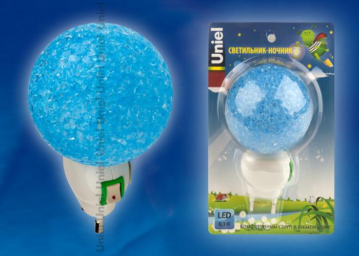 DTL-309-Шар/BLUE/1LED/0,1W