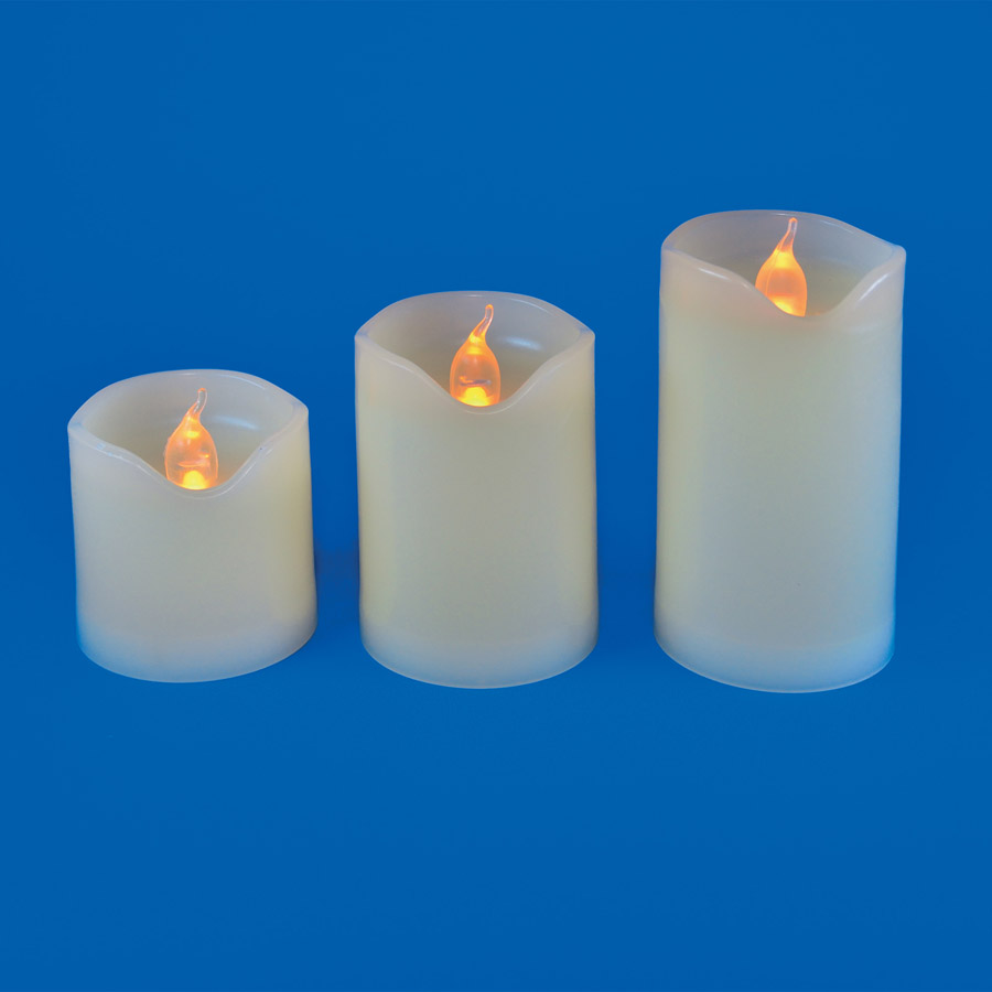 ULD-F060 WARM WHITE CANDLE SET3