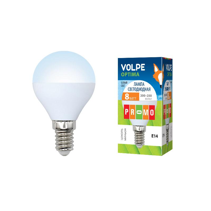 LED-G45-8W/NW/E14/FR/O картон - фото 48092