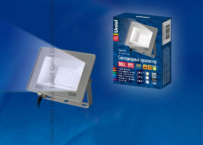 ULF-F15-10W/DW IP65 185-240В SILVER - фото 48121