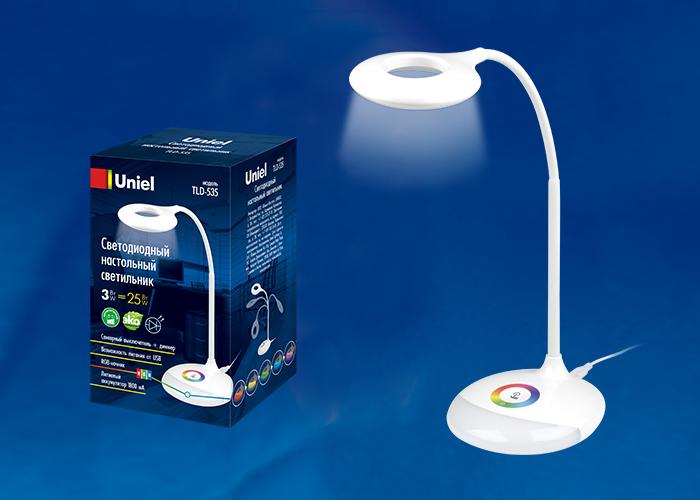 TLD-535 White/LED/250Lm/5500K/Dimmer