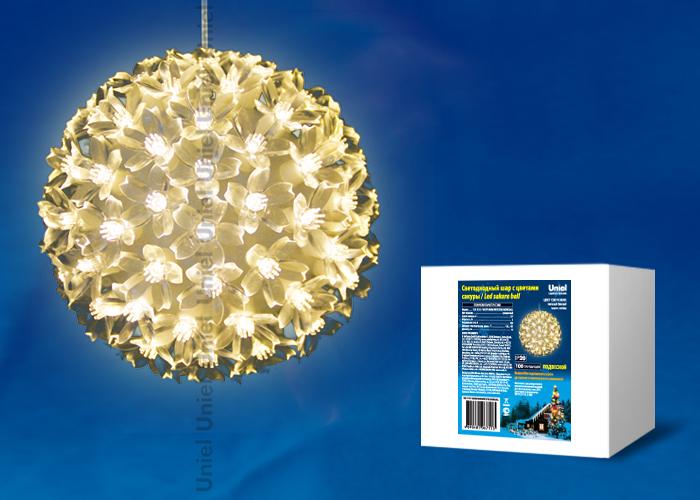 ULD-H1515-100/DTA WARM WHITE IP20 SAKURA BALL