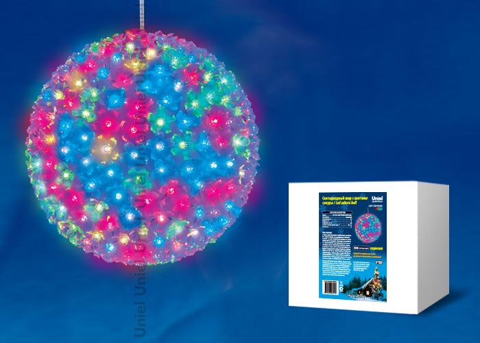 Фигура светодиодная ULD-H2727-300/DTA RGB IP20 SAKURA BALL Шар с цветами сакуры, 300 светодиодов, диаметр 27 см, цвет свечения-RGB, IP20