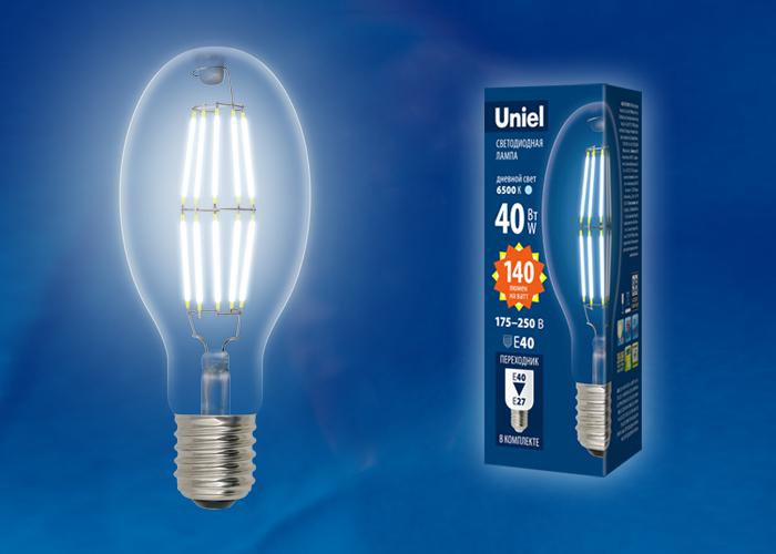 LED-ED90-40W/NW/E40/CL GLP05TR - фото 48741