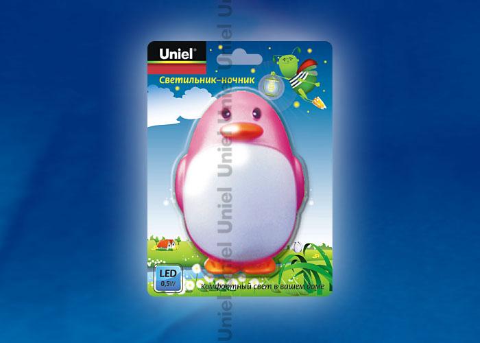 DTL-301-Пингвин/Pink/3LED/0,5W