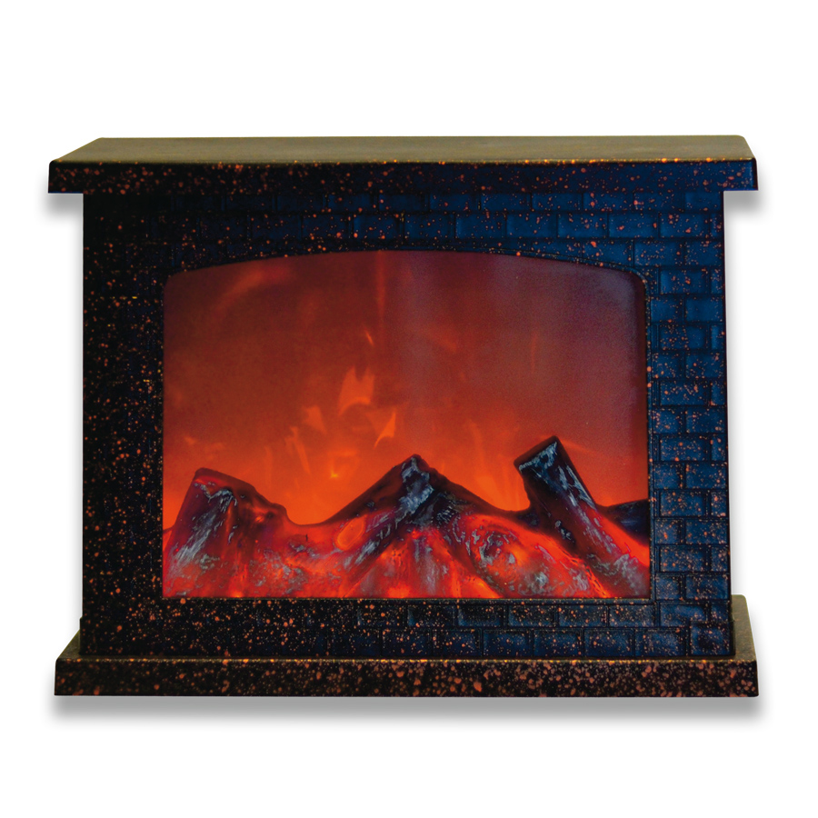 ULD-L2821-005/DNB/RED BROWN FIREPLACE