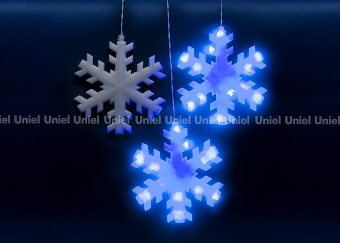 ULD-E2703-120/DTA BLUE IP20 SNOWFLAKES
