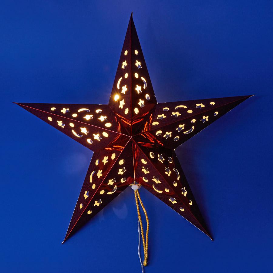 ULD-H4545-005/STA/2AA WARM WHITE IP20 RED STAR