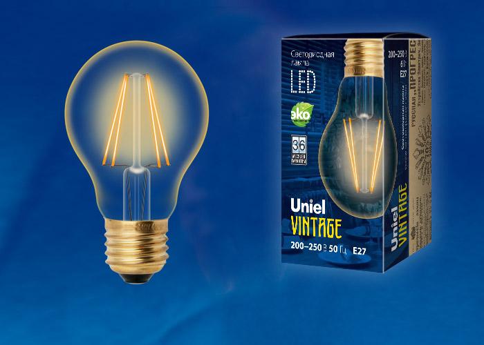 LED-A60-6W/GOLDEN/E27 GLV21GO