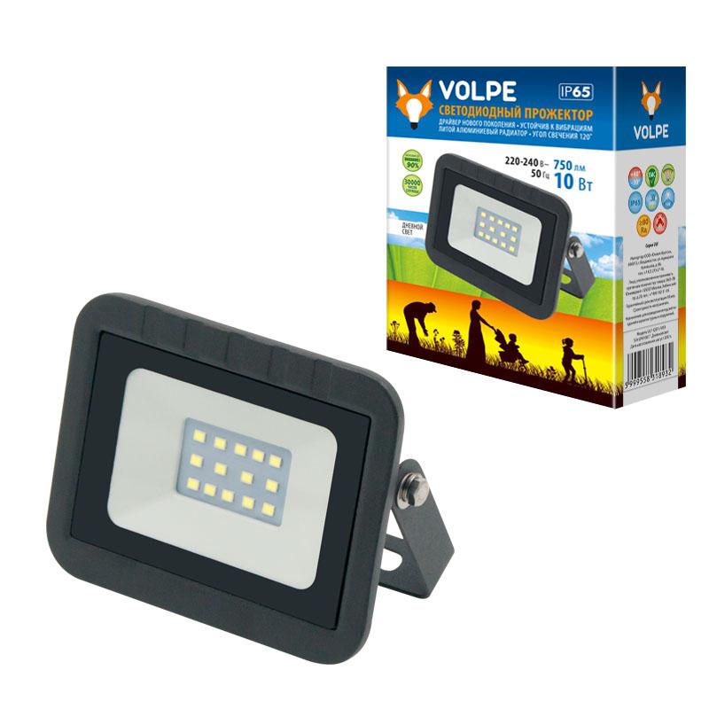 ULF-Q511 10W/WW IP65 220-240В BLACK картон - фото 48482