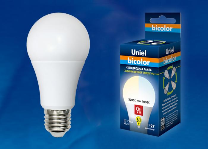 LED-A60-9W/WW+NW/E27/FR PLB01WH картон - фото 47949