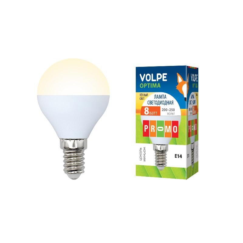 LED-G45-8W/WW/E14/FR/O картон - фото 48115
