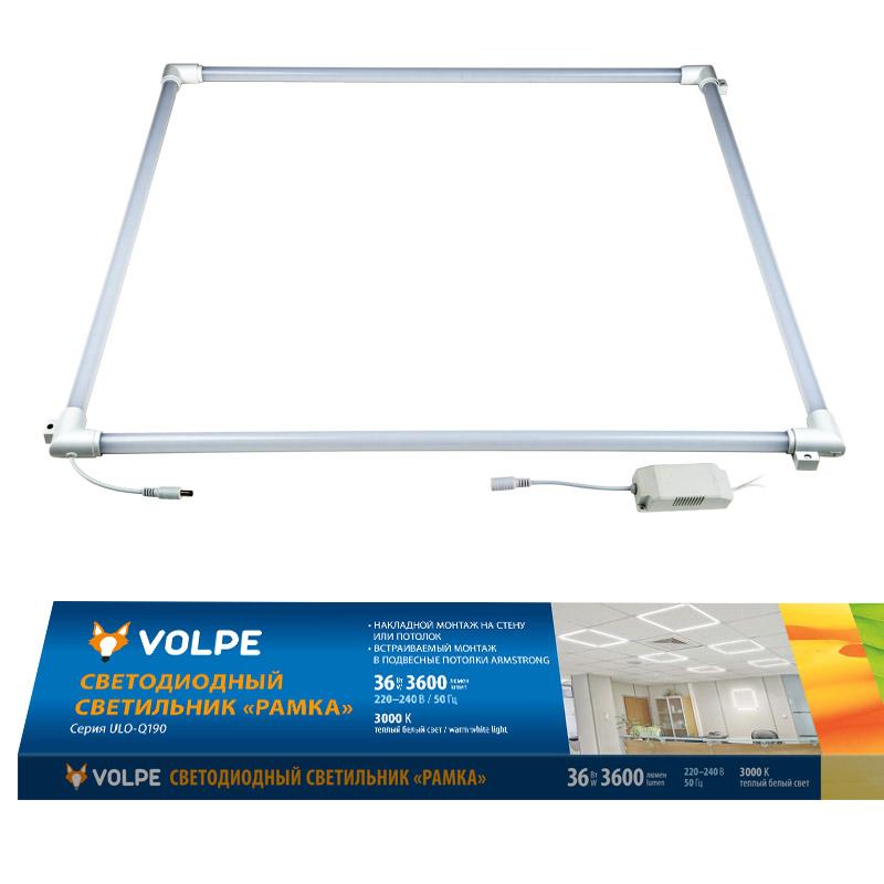 ULO-Q190 6060-36W/3000K WHITE - фото 48756