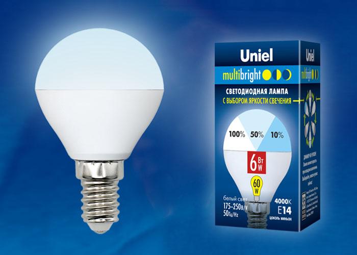 LED-G45-6W/NW/E14/FR/MB PLM11WH картон - фото 48183