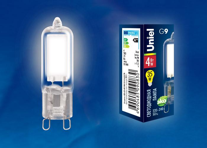 LED-JCD-4W/NW/G9/CL GLZ01TR картон - фото 48035