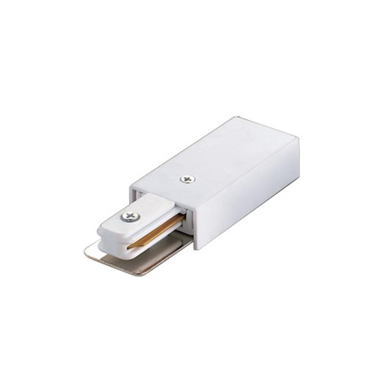 UBX-Q121 K01 WHITE 1 POLYBAG Ввод питания для шинопровода. Однофазный. Цвет — белый.
