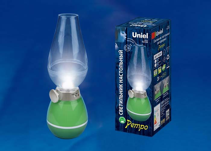 TLD-538 Green/LED/80Lm/5500K/Dimmer