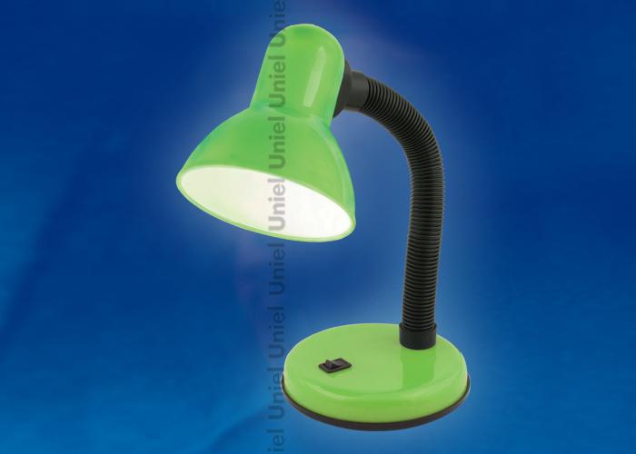 Лампа настольная TLI-224  Цоколь E27. Цвет зеленый (светлый)