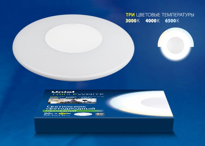 ULT-T10B-20W/WW+NW+DW WHITE - фото 47971