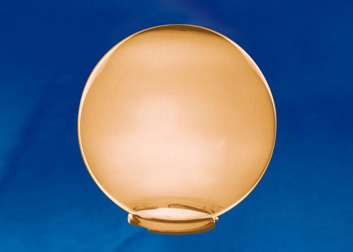 Рассеиватель в форме шара UFP-R250В BRONZE для садово-парковых светильников. Диаметр - 250мм. Тип соединения с крепежным элементом - посадочный.. Цвет - бронза