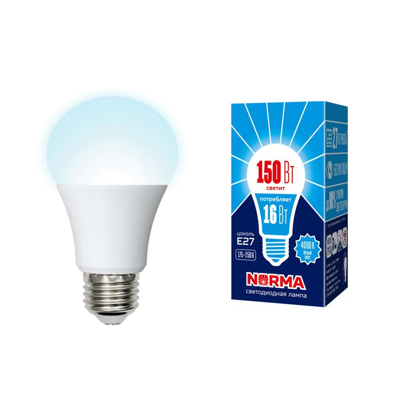 LED-A60-16W/NW/E27/FR/NR картон - фото 48892