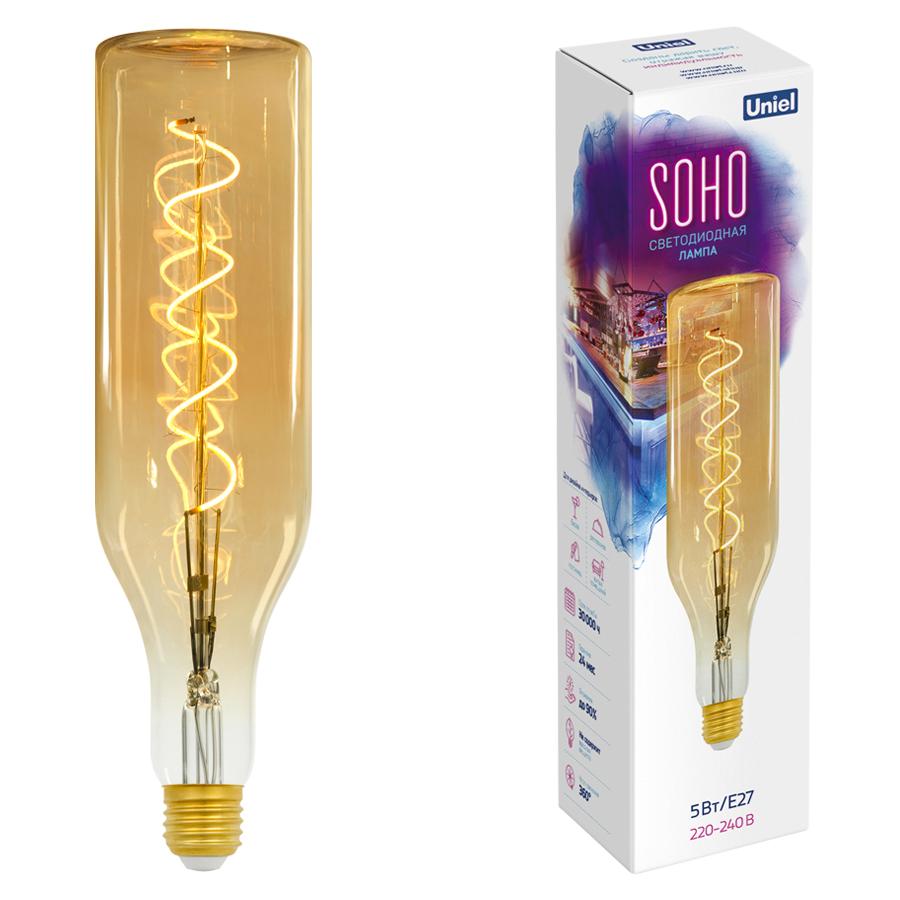 LED-SF20-5W/SOHO/E27/CW GOLDEN GLS77GO