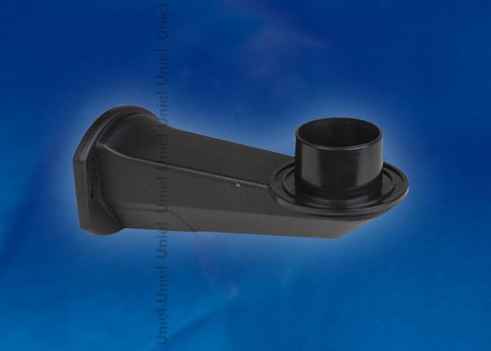 Кронштейн UFP-C23BN-190 BLACK для садово-парковых светильников. Тип соединения с рассеивателем - посадочный. Длина 190мм. Без патрона Е27. Материал - пластик. Цвет черный