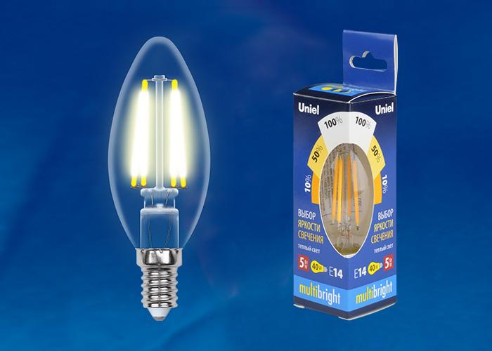 LED-C35-5W/WW/E14/CL/MB GLM10TR картон - фото 48167