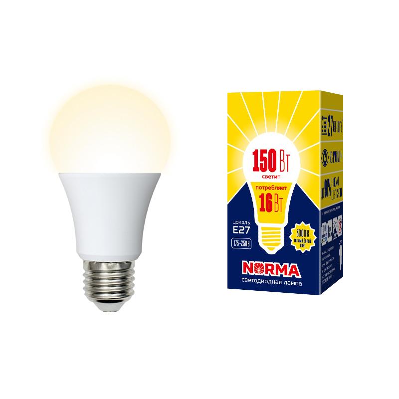 LED-A60-16W/WW/E27/FR/NR картон - фото 48901