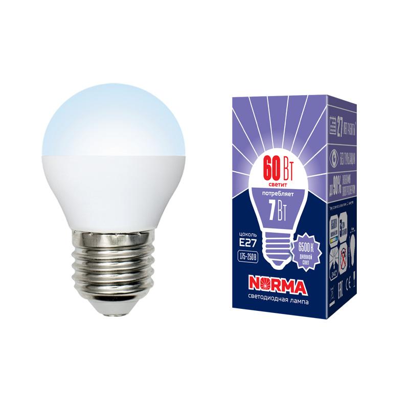 LED-G45-7W/DW/E27/FR/NR картон - фото 48765