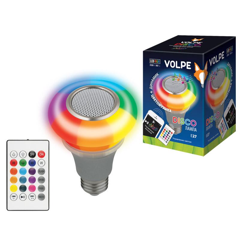 ULI-Q340 5W/RGB/E27 SILVER - фото 48663