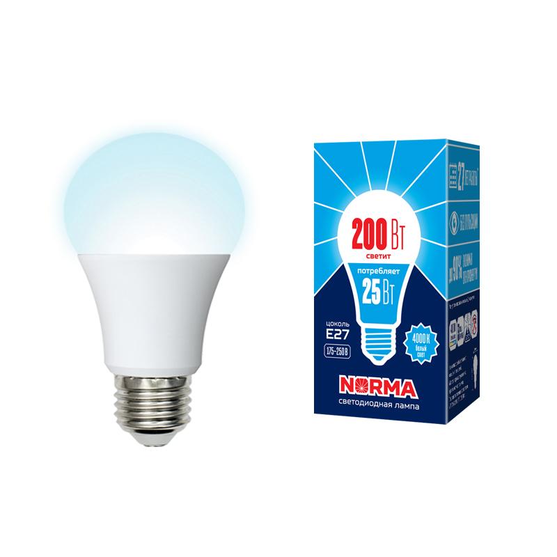 LED-A70-25W/4000K/E27/FR/NR картон - фото 48980
