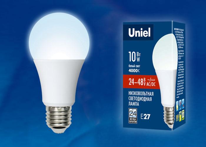 LED-A60-10W/NW/E27/FR/24-48V PLO55WH - фото 48218