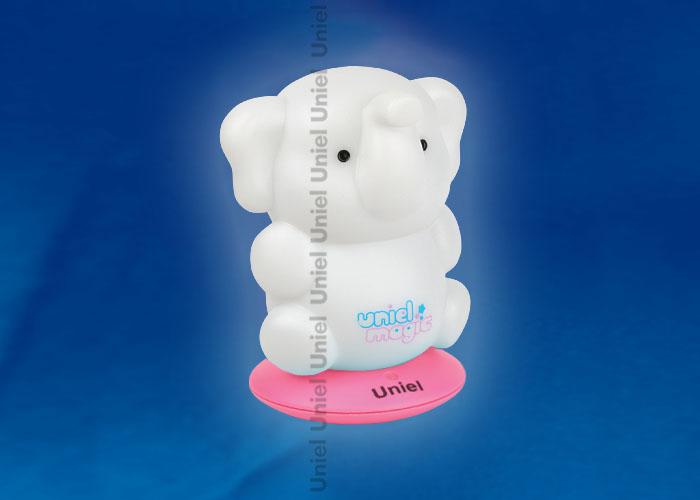 DTL-305-Слоненок/3color/Base pink/Rech пластик