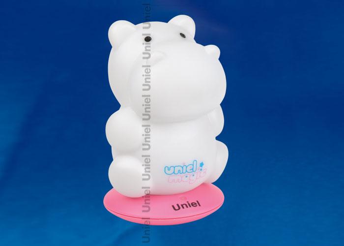 DTL-305-Бегемотик/3color/Base pink/Rech пластик