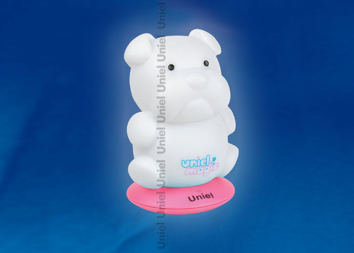 DTL-305-Бульдожка/3color/Base pink/Rech пластик