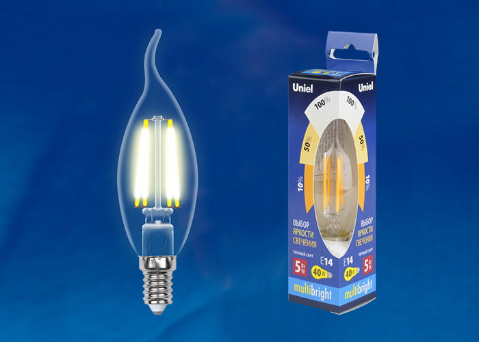 LED-CW35-5W/WW/E14/CL/MB GLM10TR картон - фото 48358
