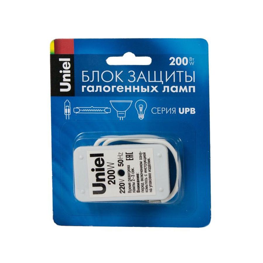 Блок защиты UPB-200W-SL для галогенных ламп. Блистерная упаковка.