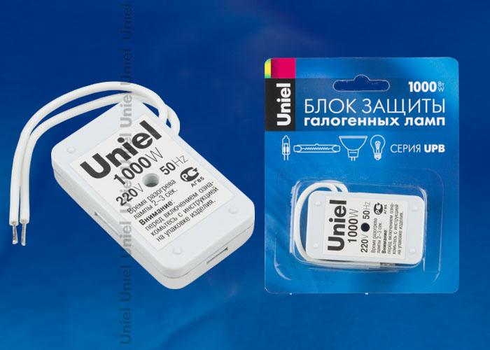 Блок защиты UPB-1000W-SL для галогенных ламп. Блистерная упаковка.
