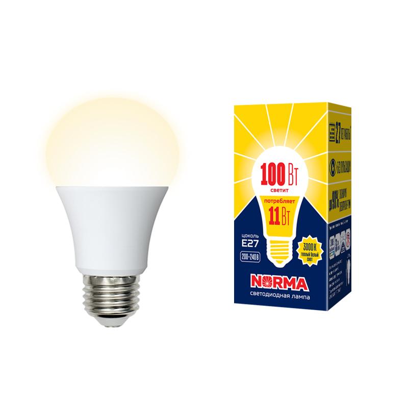 LED-A60-11W/WW/E27/FR/NR картон - фото 48542
